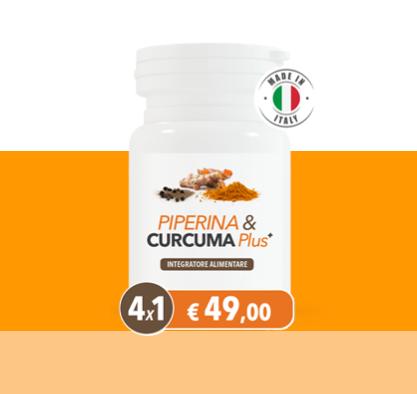 Piperina Curcuma Plus dimagrante
