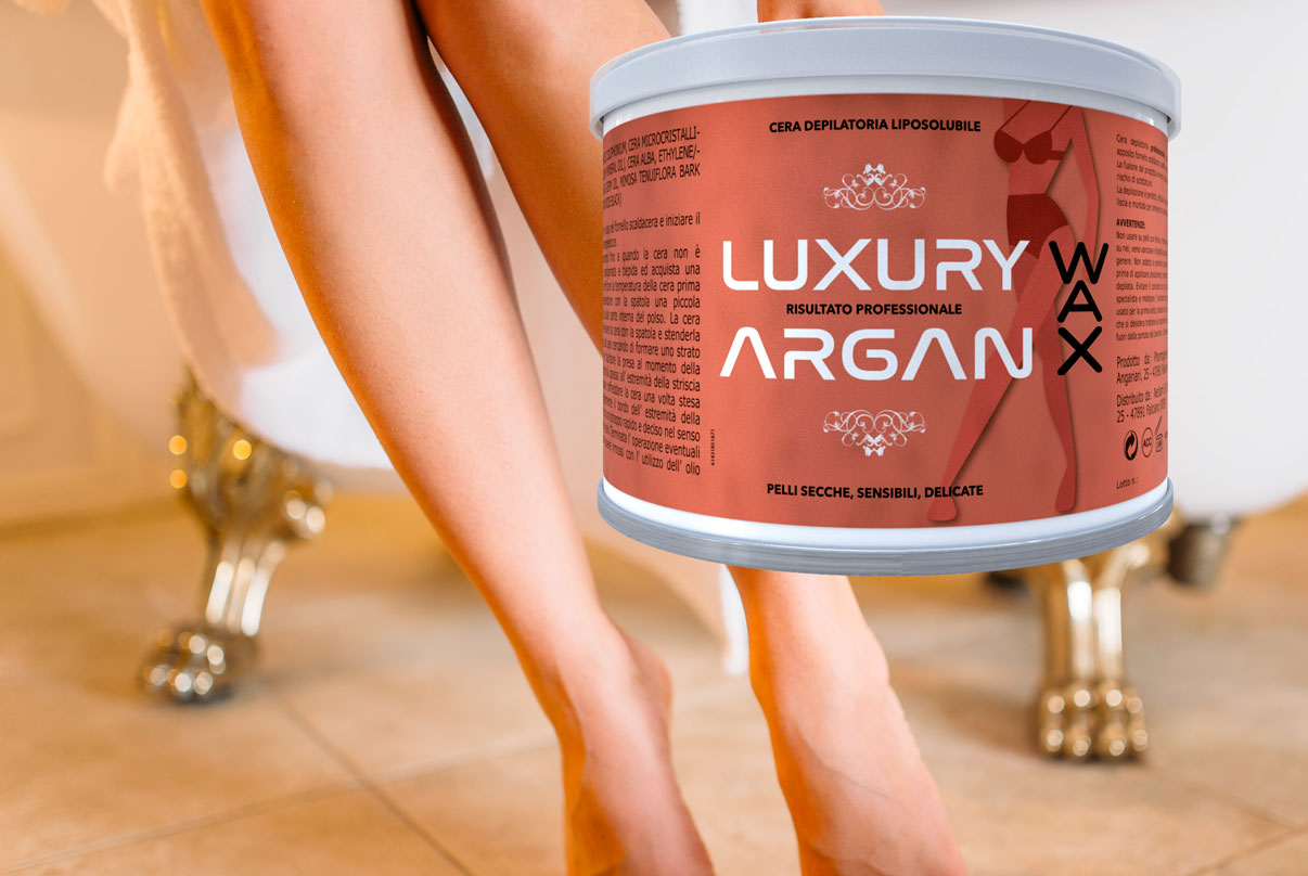 argan wax ceretta indolore